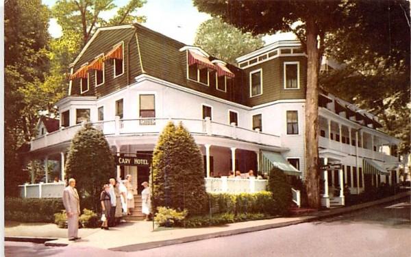 The Cary Hotel Chautauqua, New York Postcard
