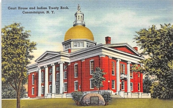 Court House Canandaigua, New York Postcard