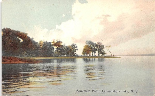 Forresters Point Canandaigua, New York Postcard