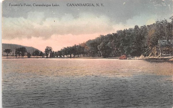 Forester's Point Canandaigua, New York Postcard