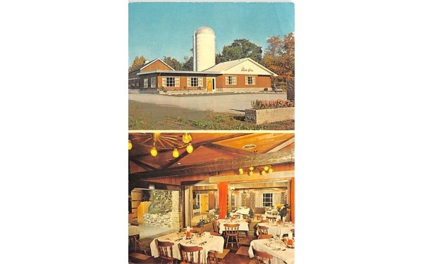 Bon Fire Restaurant Inc Canandaigua, New York Postcard