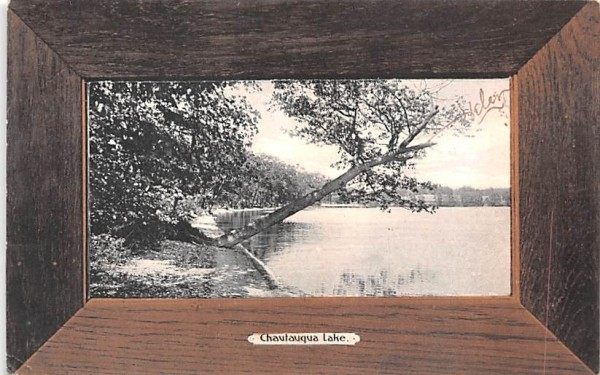 Chautauqua Lake New York Postcard