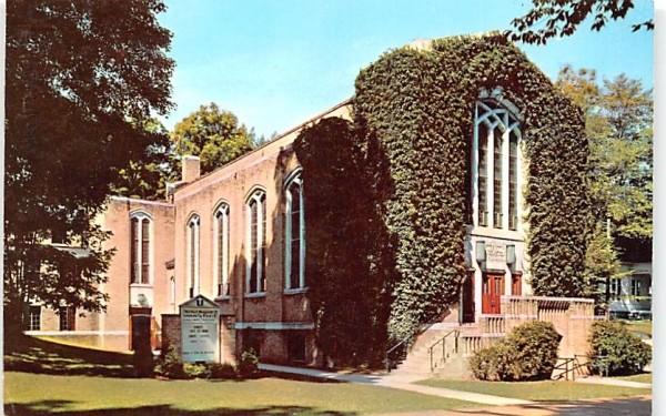 Hurlbut Memorial Community Church Chautauqua, New York Postcard