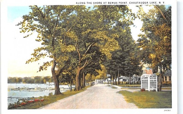 Bemus Point Chautauqua, New York Postcard