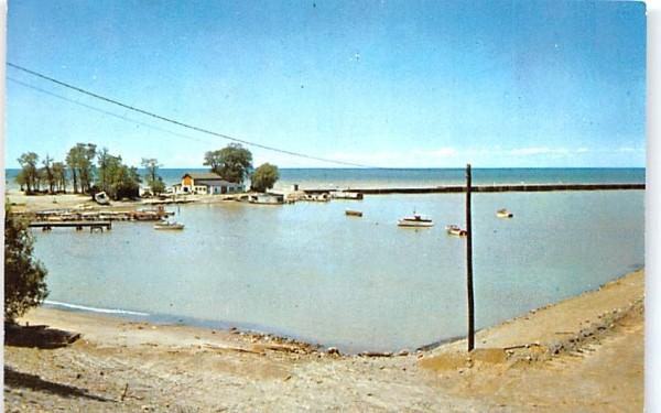 Historical Barcelona Harbor Chautauqua, New York Postcard