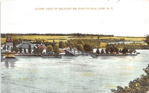 Shore View Chautauqua, New York Postcard