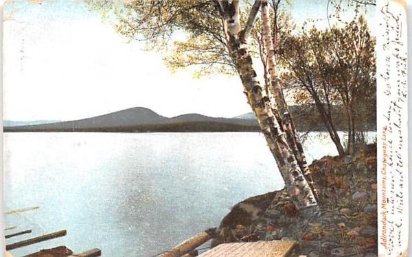 Adirondack Mountains Chautauqua, New York Postcard