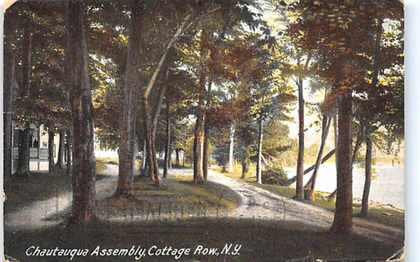 Chautauqua Assembly New York Postcard