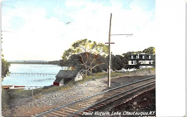 Point Victoria Chautauqua, New York Postcard