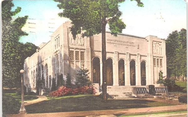 Norton Memorial Hall Chautauqua, New York Postcard