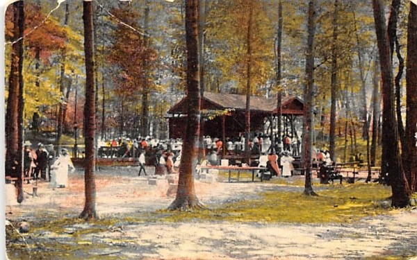 Pavilion Chautauqua, New York Postcard