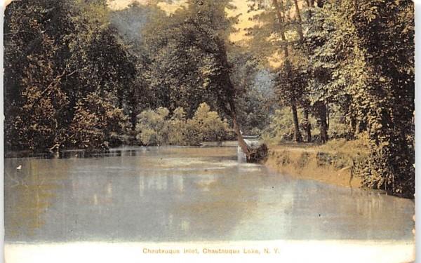 Chautauqua Inlet New York Postcard