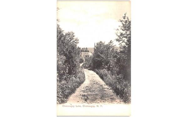 Chateaugay Lake New York Postcard