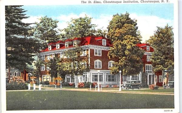 St Elmo Chautauqua, New York Postcard