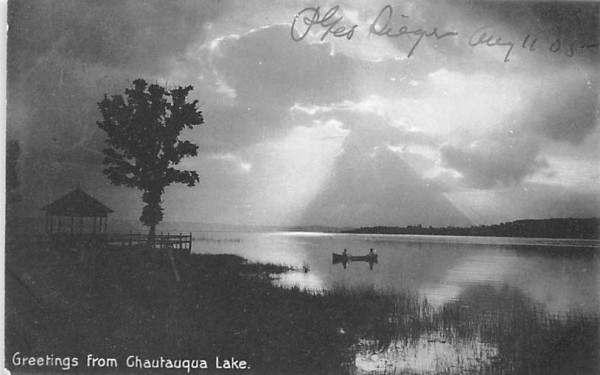 Greetings from Chautauqua, New York Postcard