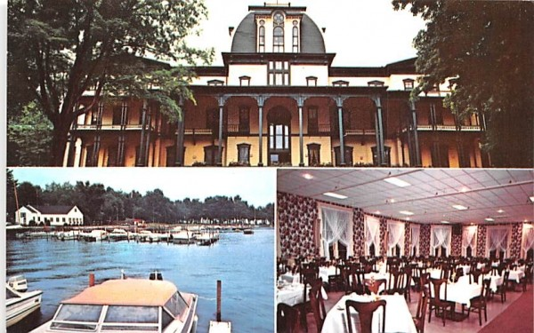 Hotel Athenaeum Chautauqua, New York Postcard