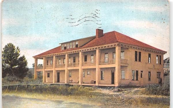 Athletic Club Chautauqua, New York Postcard