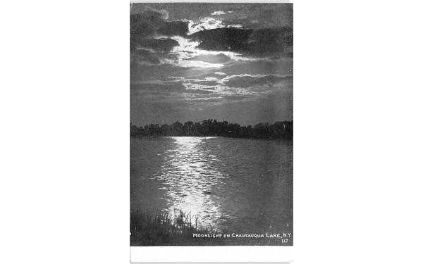 Moonlight Chautauqua, New York Postcard