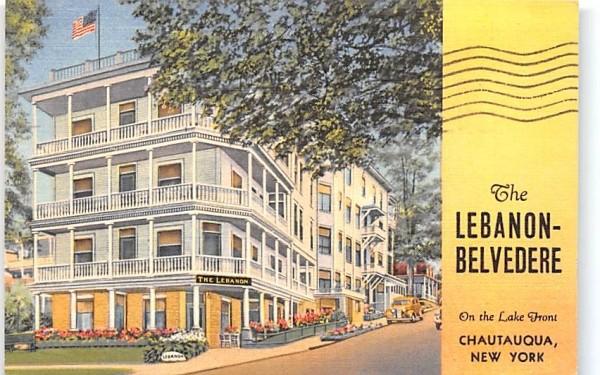 Lebanon Belvedere Chautauqua, New York Postcard