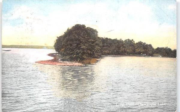 Long Point Chautauqua, New York Postcard
