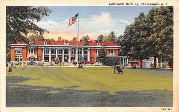 Colonnade Building Chautauqua, New York Postcard