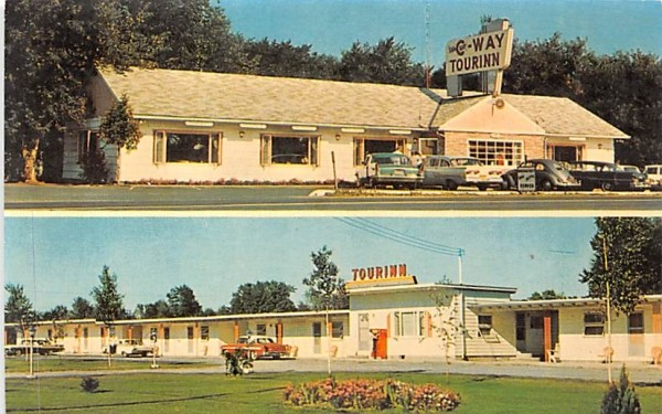 New C-Way Tourinn & Golf Club Clayton, New York Postcard