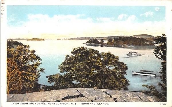 Big Sorrel Clayton, New York Postcard