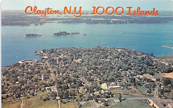 Thousand Islands Clayton, New York Postcard