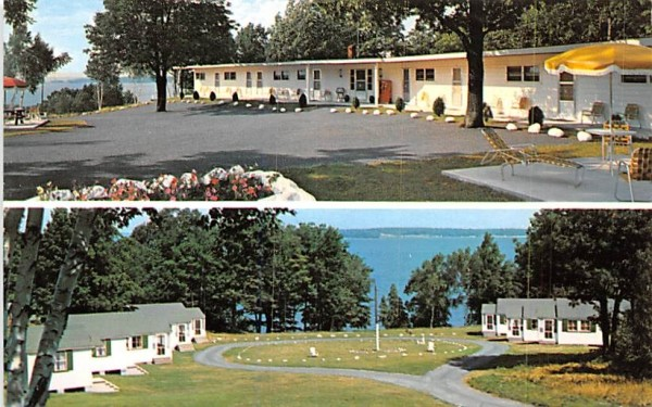 Fair Wind Lodge Clayton, New York Postcard