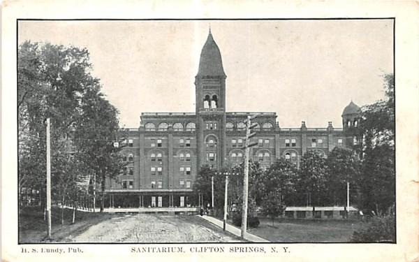 Sanitarium Clifton Springs, New York Postcard