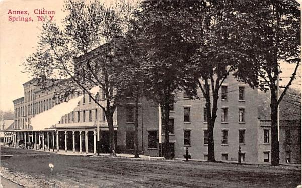 Annex Clifton Springs, New York Postcard
