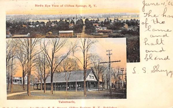 Tabernacle Clifton Springs, New York Postcard