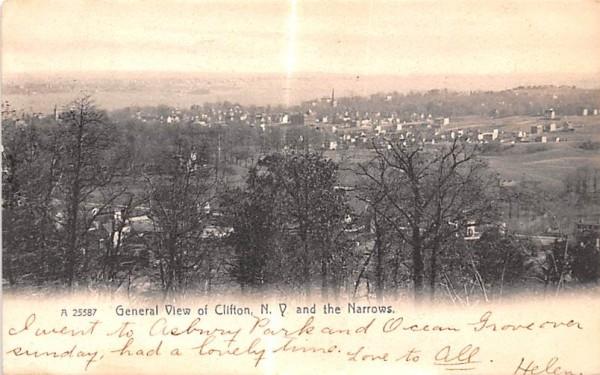 The Narrows Clifton Springs, New York Postcard