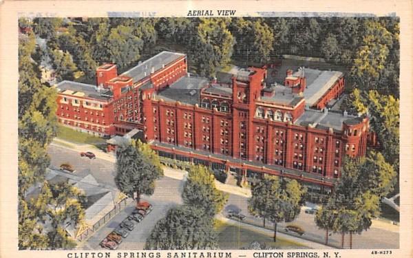 Clifton Springs Sanitarium New York Postcard