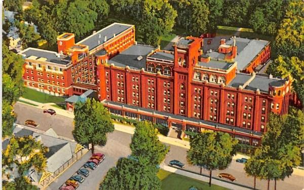 Clifton Springs Hospital & Clinic New York Postcard