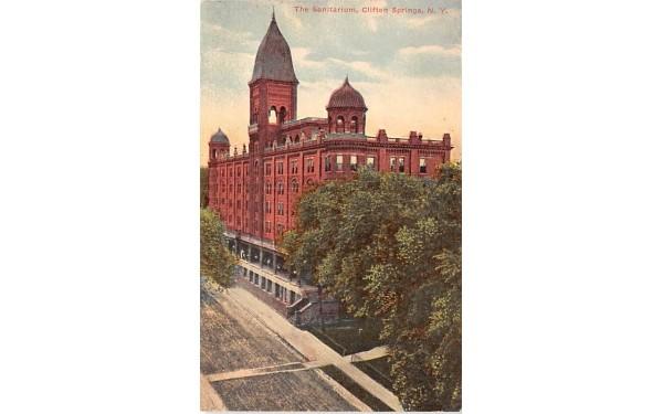 The Sanitarium Clifton Springs, New York Postcard
