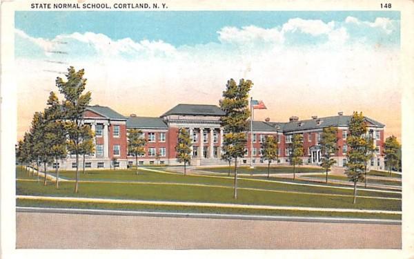 State Normal School Cortland, New York Postcard