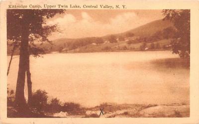 Kittredge Camp Central Valley, New York Postcard