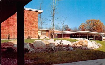Cornwall Central High School New York Postcard