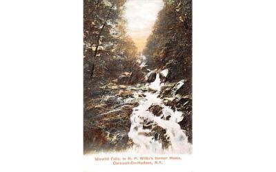 Idlewild Falls Cornwall on Hudson, New York Postcard