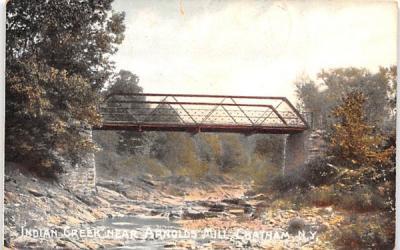 Indian Creek Chatham, New York Postcard
