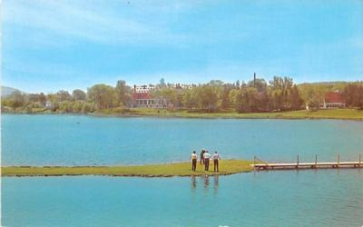 18th Tee Cooperstown, New York Postcard