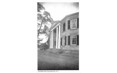 Constable Hall Constableville, New York Postcard