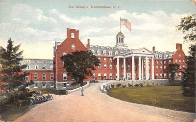 The Otesaga Cooperstown, New York Postcard