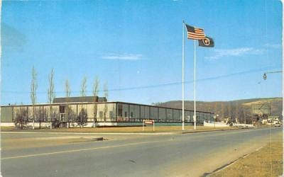 Corning Glass Works New York Postcard