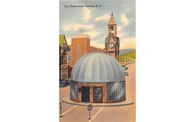 The Observatory Corning, New York Postcard