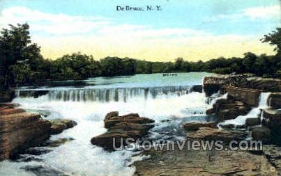 De Bruce, New York, NY Postcard