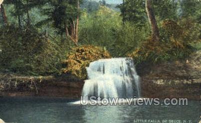 Little Falls - De Bruce, New York NY Postcard