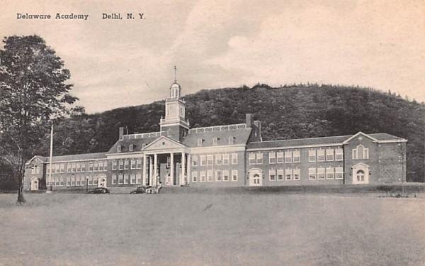 Delaware Academy Delhi, New York Postcard