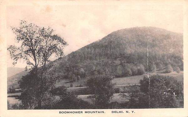 Boomhower Mountain Delhi, New York Postcard